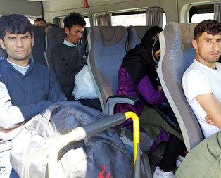 Çanakkale'de 11 düzensiz göçmen yakalandı
