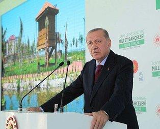 Son dakika: Başkan Erdoğan'dan Millet Bahçesi paylaşımı