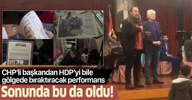 PKK'lı yardımcısına sahip çıktı!