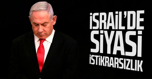 İsrail'de siyasi istikrarsızlık!