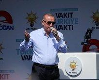 Erdoğan: Paraları Kandile gönderdiler