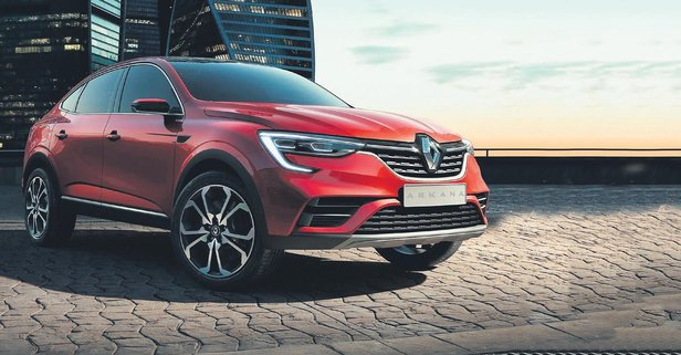 Renault'dan yeni crossover Arkana