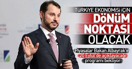Türkiye ekonomisi için dönüm noktası olacak! Bakan Albayrak Orta Vadeli Programı 20 Eylülde açıklayacak