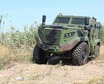 4x4 Zırhlı Muharebe Aracı Hızır patlatma testinden geçti
