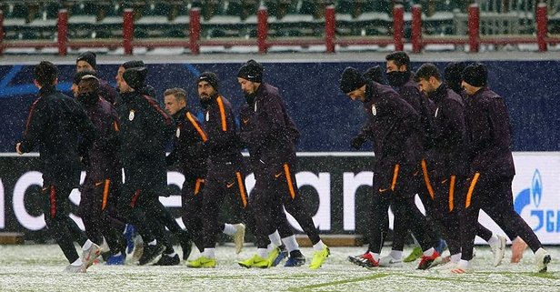 Aslan, Lokomotiv maçına hazır!