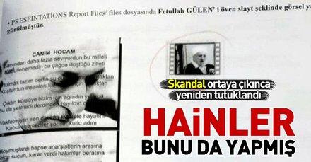 Eski Danıştay Üyesi Hamza Eyidemir, FETÖ elebaşını 'peygamberimiz' diye kaydetmiş