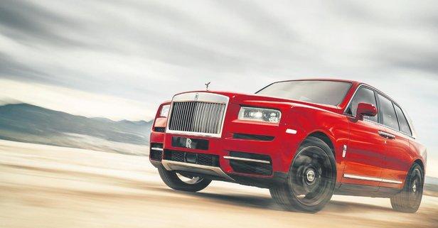 Rolls-Royce'un elması Türkiye'de