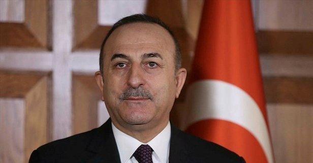 Bakan Çavuşoğlu'ndan kritik Filistin görüşmesi