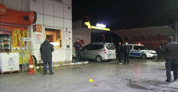 İzmir'de hareketli gece! Akaryakıt istasyonunda silahlar konuştu