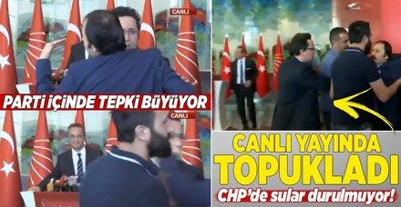 CHP'li Tezcan canlı yayında topukladı! CHP'de sular durulmuyor