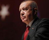 Erdoğan'dan o aileye başsağlığı mesajı