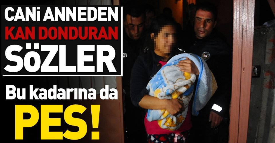 Cinnet getiren anne bebeğini döverek öldürdü