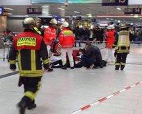 Almanya'da baltalı terör saldırısı!