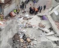 Zeytinburnu'ndaki bina şaşırtmadı
