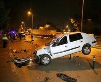 Bursada korkunç kaza! Araç böyle bulundu