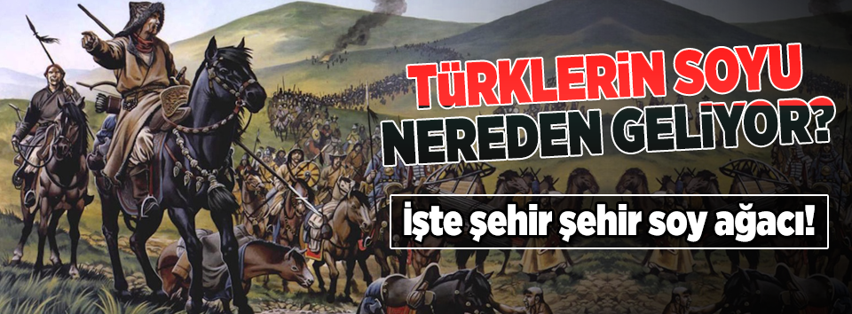 Türklerin soyu nereden geliyor?