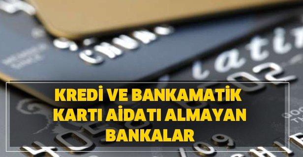 Kredi Ve Bankamatik Karti Aidati Almayan Bankalar 2020 Yili