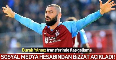 Burak Yılmaz : Trabzonspor'da kalmayı tercih ederim!