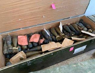 YPG/PKK Tel Abyad'ı silah deposuna çevirmiş! İşte o görüntüler
