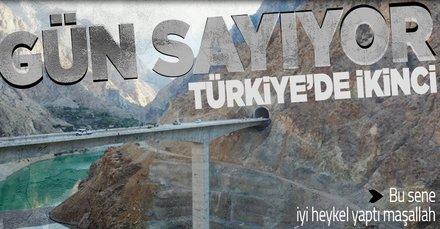 SON DAKİKA: Türkiye'nin en yüksek ayaklı ikinci viyadüğü! Tekkale Viyadüğü açılış için gün sayıyor