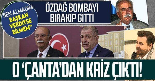 Ümit Özdağ'ın çanta açıklaması Millet İttifakı'nda kriz yarattı! Birbirlerine girdiler - Takvim
