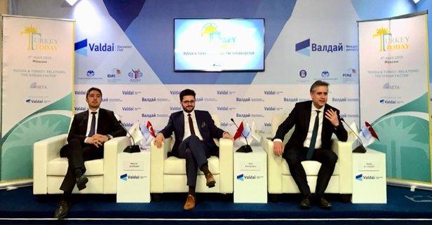 Cumhurbaşkanlığı panelleri Moskova'daydı