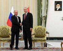 Erdoğan ile Putin arasında kritik görüşme!