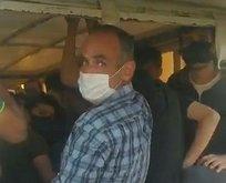 Kamyonetten tam 23 yolcu çıkarıldı