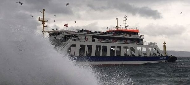 Deniz ulaşımına hava muhalefeti