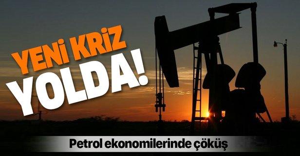 Petrol ekonomilerinde çöküş! Yeni kriz yolda
