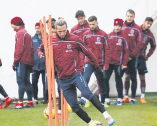 Trabzonspor'dan taktik antrenmanı