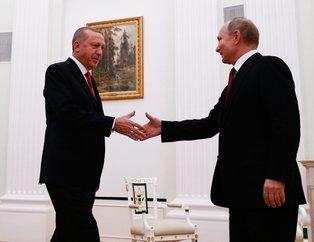 Putin, Başkan Erdoğan'ı böyle uğurladı | İşte zirveye damga vuran anlar
