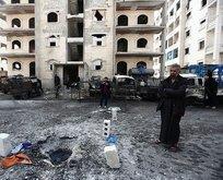 Esad rejimi ve Rusya yine sivilleri vurdu!