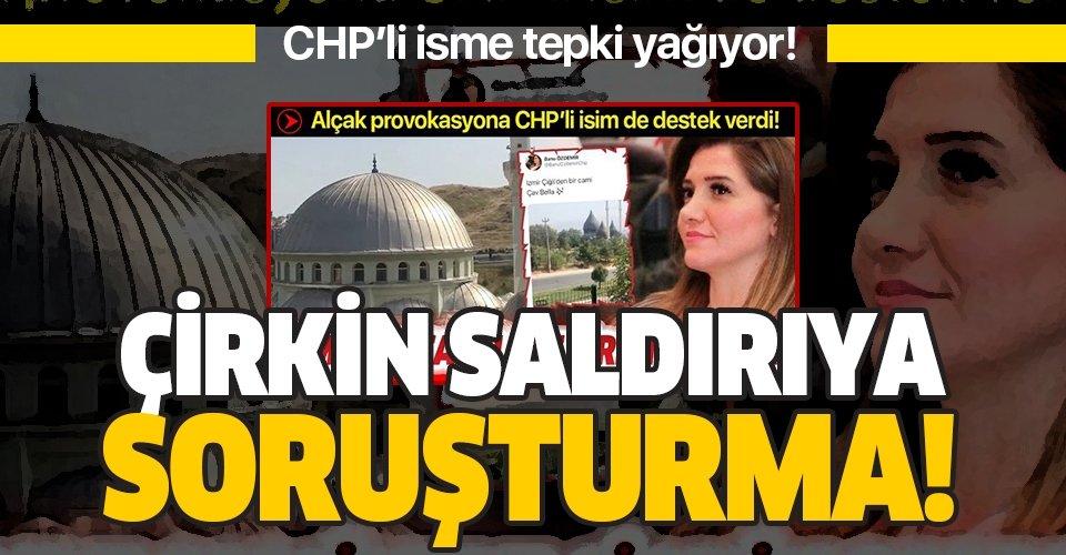 İzmir'de camilere çirkin saldırıya soruşturma!