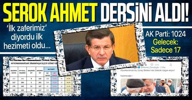 Afyonlular Serok Ahmet'e dersini verdi!
