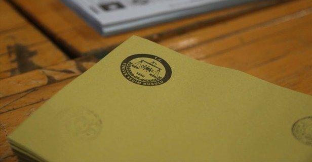 O ilçede geçersiz 11 bin 530 oy tespit edildi