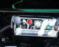 Bakanlık duyurdu! LPG yakıt tankında ele geçirildi