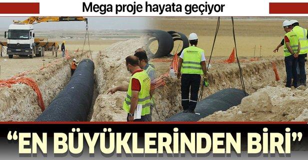Türkiye'nin en büyük mega projelerinden biri