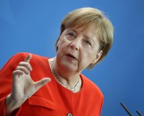Merkel'den Suriye açıklaması!