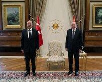 Başkan Erdoğan'dan Külliye'de önemli kabul