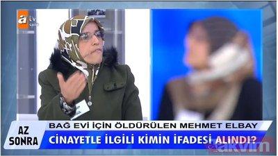 Müge Anlı son bölümde cinayet itirafının ardından kan donduran gelişme: Mehmet Muharrem Elbay...