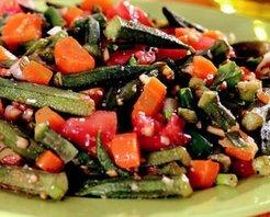 Bamya Salatası Tarifi