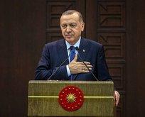 Başkan Erdoğan'dan anlamlı mesaj