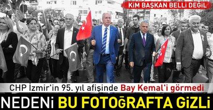 İzmir Büyükşehir Belediyesi Kılıçdaroğlu'nu görmedi
