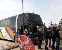 Kimyasal saldırıdan sonra Duma'dan yeni tahliye konvoyu