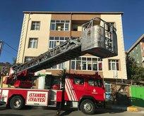 İstanbul'da yangın paniği! Son anda kurtarıldılar