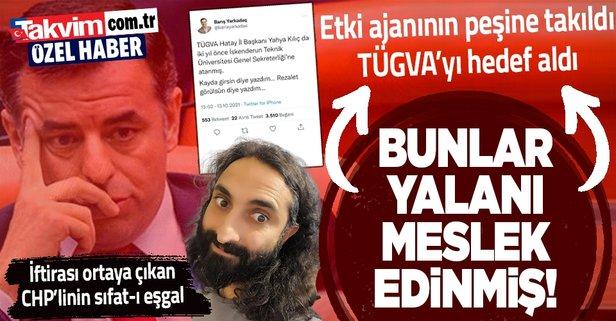 CHP'li Yarkadaş'ın TÜGVA iftirası elinde patladı!