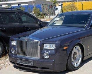 Gümrüğe takılan Rolls-Royce 3 milyon TL'den satılacak!