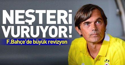 Phillip Cocu neşteri vuruyor! Fenerbahçede büyük revizyon