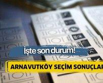 23 Haziran Arnavutköy İstanbul seçim sonuçları